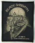 Black Sabbath - 'US Tour '78'  Woven Patch